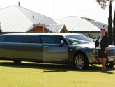 Chrysler Wedding limo in Perth