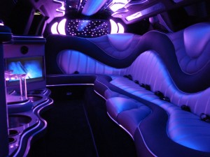 Chrysler 300c limo Perth, build stage, interior
