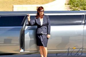 Awaiting bride entrance into Chrysler