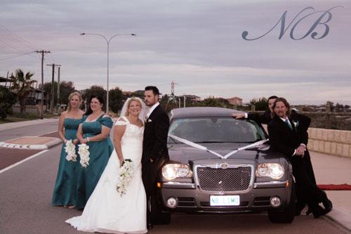 Chrysler wedding limo Perth