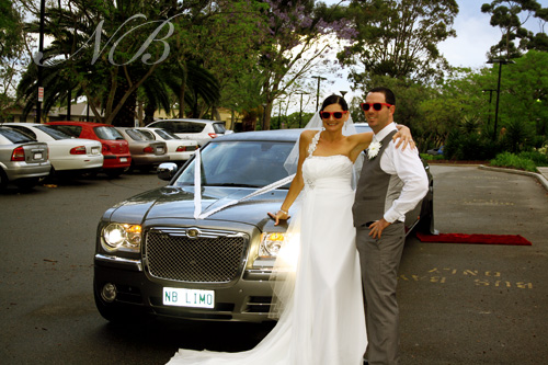 Chrysler wedding limo Perth